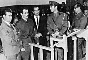 Alekos Panagoulis voor de rechter, nov 1968